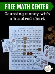 Interactive Counting Chart Counting Money With A Hundred Chart Free The Measured Mom