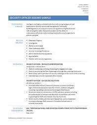 security officer skills for resume sample network security resume security resume objective unarmed security guard resume network security officer