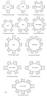 round table size for 8 8 person round table tables size of a dining beautiful seating