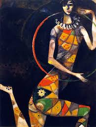 the athenaeum acrobat marc chagall no dates listed