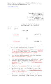 Divorce Decree Sample Word Certificate Template