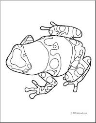 Small Picture Posion Arrow Frog Coloring Coloring Pages