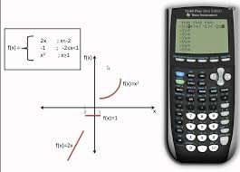 graphing a piecewise function on a ti84 plus se graphing calculator you