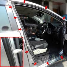 scheme silence 4 3 meter air tight slim rubber seal stripe sound wind for car doors made in korea