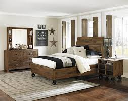 Next Home Bedroom Next Generation By Magnussen Braxton Full Rustic Lounge Bed With