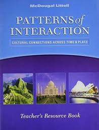 World History Patterns Of Interaction Answer Key Simple Reading Study Guide Answer Key McDougal Littell World History