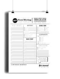 Short Story Plan Template Template Story Plan Template Novel Writing Plot Outline Author Year