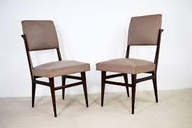 Esszimmerstühle Aus Holz Von Dassi 1950er 2er Set