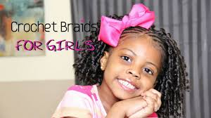 Crowshade Hair Style cutest crochet braids for little girls teeday6 youtube 6425 by wearticles.com