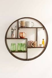 Circular Floating Shelves Fascinating Circular Floating Shelves Round Wall Shelf Unit 32 Websiteformore