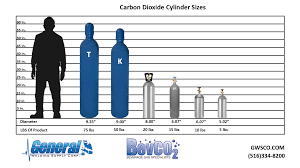 Carbon Dioxide Cylinders Tanks Sizes Home Brew Beer Gas