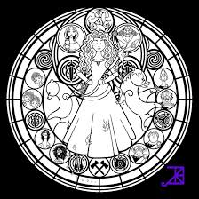 Small Picture Popular Images Kingdom Hearts Coloring Pages Stained Glass
