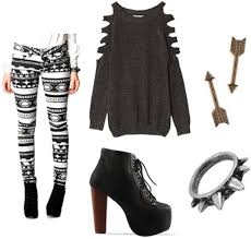 What To Wear With Patterned Leggings Cool Inspiration