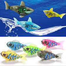 new year high quality powered funny gift kids swimming shark toys robot toy bathing accessories fish toy for child baby old electronic pet games electric