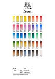 Winsor And Newton Cotman Color Chart Winsor Newton Cotman Watercolour Paint 8ml