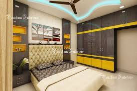 Bedroom interior Bed Project Name Pancham Interiors Bedroom Interior Design Bangalorepancham Interiorsdesign Expert