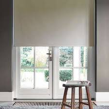 window roller blinds. Interesting Window CuttoWidth Beige Polyester Blackout Spring Roller Shade  On Window Blinds