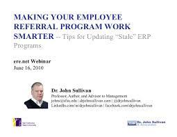 Making Your Employee Referral Program Work Smarter