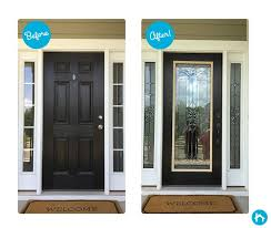 10 best 2016 door transformation images on pertaining to front glass inserts prepare 15