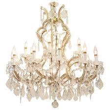 maria theresa chandelier grand maria theresa venetian crystal chandelier at 1stdibs part 41