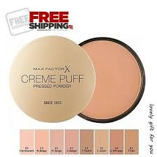 Max Factor Creme Puff Colour Chart Max Factor Creme Puff Refill Compact Powder Choose Your