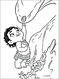 Print Moana Coloring Pages Index Coloring Pages Free Moana Coloring