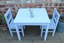 an ikea sulva like a latt table painted in annie sloan chalk paint