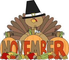 December Pictures Month Of November Turkey Clip Art Image The