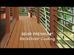 Behr Premium Deckover Product Information Video