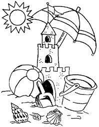Small Picture Childrens Coloring Pages Summer Coloring Pages