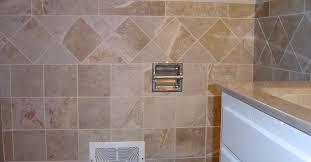 bathroom floor tile layout. Bathroom Wall Wainscot Porcelain Tile Set On A Straight Lay With Diagonal Highlight Strip Floor Layout I