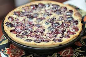 Image result for Buttermilk Clafoutis