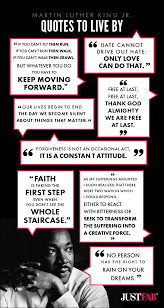Martin Luther King Jr Quotes About Love Custom Infographic Martin Luther King Jr Quotes To Live By Michael