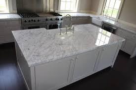 white carrara marble countertops
