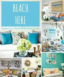beach wall decor ideas for above sofa