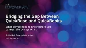Bridging The Gap Between Quickbase And Quickbooks Build