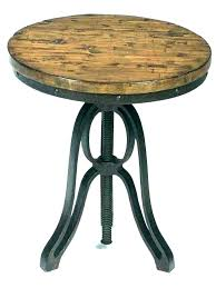 metal round accent table accent tables with drawers cool large size of round wood and metal