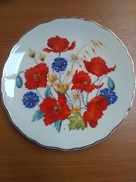 our lady of lourdes decorative plate