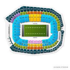 Minnesota Vikings Tickets Seating Chart Vikings Tickets 2019 Minnesota Games Ticket Prices Buy