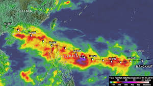 Mangkhut (NW Pacific Ocean) 2018 – Hurricane And Typhoon ...