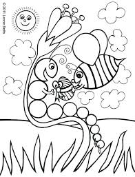 Coloring Page For Toddlers Coloring Page Children Easy Pages For