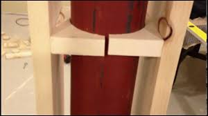 Decorative 4x4 Post Wraps Covering A Lally Column In A Finished Basement Tutorial Youtube