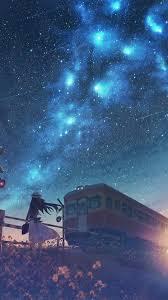Iphone Night Anime Scenery Wallpaper ...