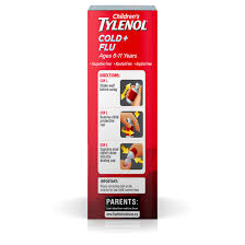 Tylenol Cold Dosage Chart Children S Tylenol Cold And Flu Dosage Chart Best Picture