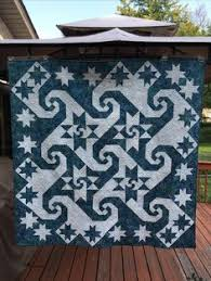 Pattern: Shake, Rattle & Roll by Prairie Sky Quilting, Stonehenge ... & Pattern: Shake, Rattle & Roll by Prairie Sky Quilting, Stonehenge fabric |  Quilts | Pinterest | Patterns Adamdwight.com