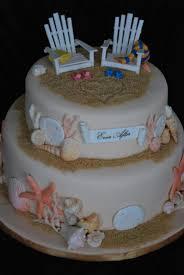 Beach Themed Bridal Shower Cake Cakecentralcom