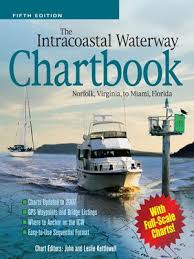 Icw Mileage Chart The Intracoastal Waterway Chartbook By John J Kettlewell