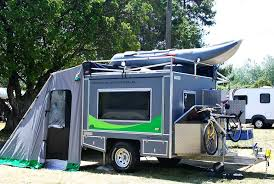 teardrop travel trailer with bathroom shower ideas tab and kitchen plans outdoor wet bath toilet for sweet ecombo camper offers 95 square feet of