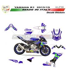 Stickers, Emblems & Flags Stickers Kit universal <b>Yamaha R1</b>/R6 ...