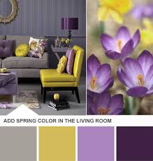 Purple And Yellow Living Room Color Schemes Purple And Yellow Background